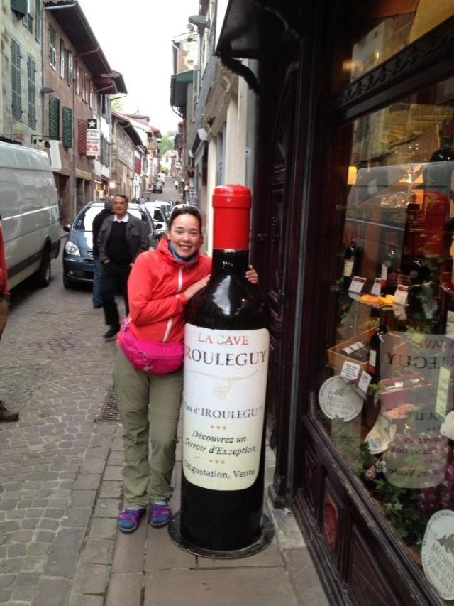 Lots of Wine on the Camino de Santiago