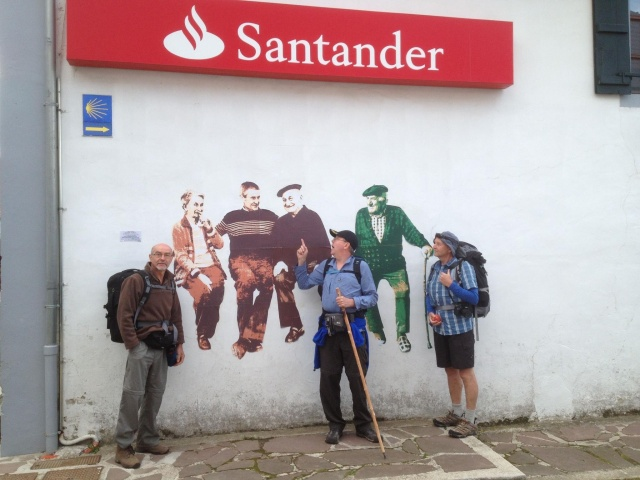 Banking on the Camino